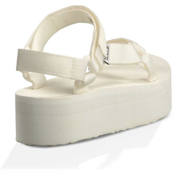 WOMEN'S FLATFORM UNIVERSAL, BRIGHT WHITE, hi-res