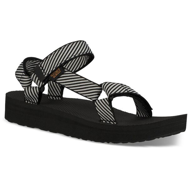 WOMEN'S MIDFORM UNIVERSAL, CANDY STRIPE BLACK, hi-res
