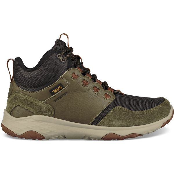 MEN'S ARROWOOD VENTURE MID WATERPROOF, DARK OLIVE, hi-res