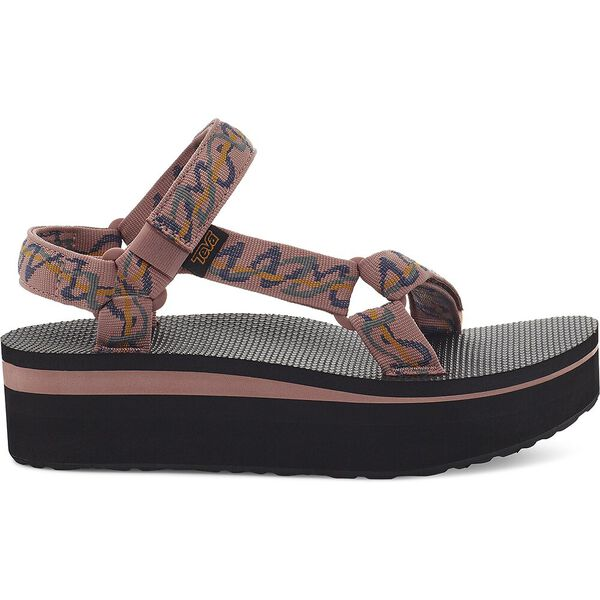 WOMEN'S FLATFORM UNIVERSAL, ZIGGY ROSE TAN, hi-res