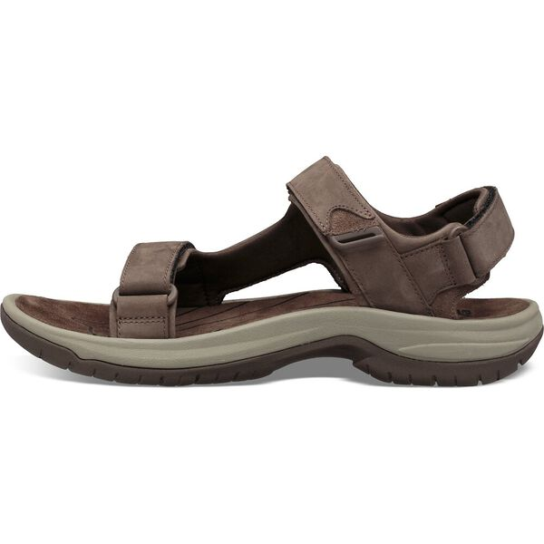 MEN'S TANWAY LEATHER, CHOCOLATE BROWN, hi-res