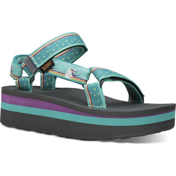 WOMEN'S FLATFORM UNIVERSAL, UNICORN WATERFALL, hi-res