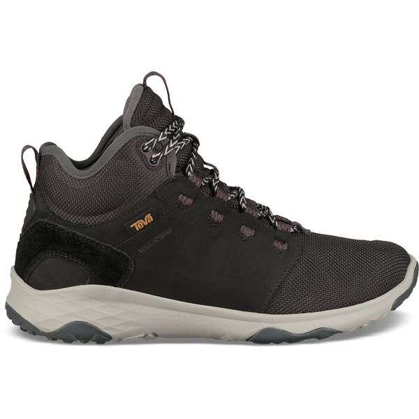 WOMEN'S ARROWOOD VENTURE MID WATERPROOF, BLACK, hi-res