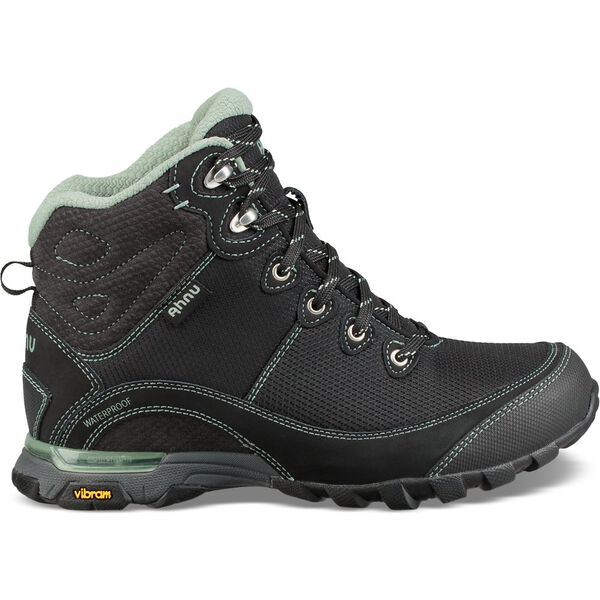 WOMEN'S SUGARPINE II WATERPROOF BOOT RIPSTOP, BLACK/GREENBAY, hi-res