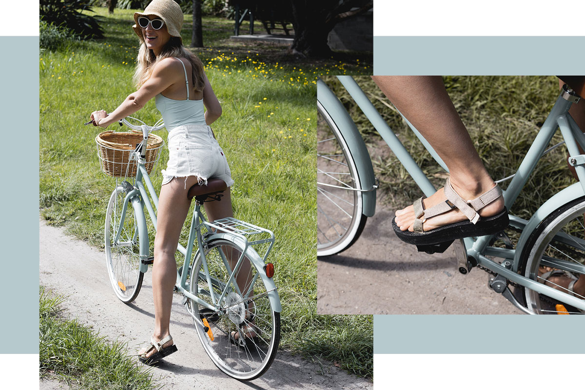 How to Style Teva sandals for summer